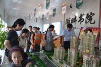 天晟・湖畔书院活动图片|看房客户接踵而至