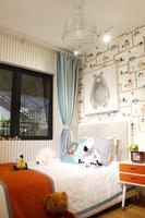 万科城样板间图|卧室