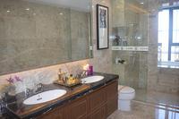 地王公馆样板间图|188�O大宅样板间浴室