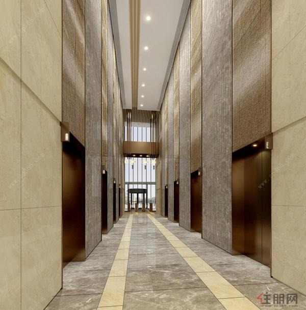 主樓首層辦公室升降機大堂