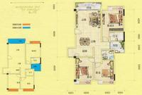 容州商业城容州商业城-C8户型3室2厅2卫114.00�O