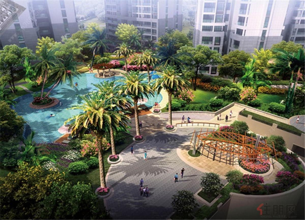无边际景观休闲游泳池