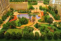 园林景观沙盘效果图图片