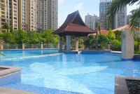中房新天地实景图|小区游泳池