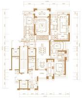 2#楼316㎡户型图