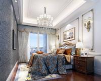 4法式风格次卧看向阳台