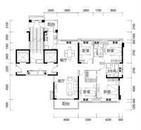 荣和天誉173�O4室2厅2卫173.00�O