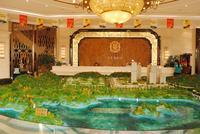 龙光玖珑湖效果图|沙盘全景