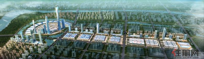华南城全景鸟瞰图