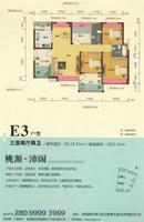 埠上桃源E3三加一房两厅两卫4室2厅2卫128.93�O