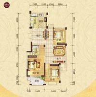 扬帆国际3房2厅2卫3室2厅2卫140.49�O