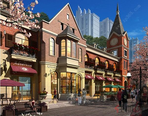 商业街区效果图3