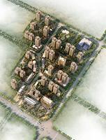 通建中天城效果图|项目鸟瞰图