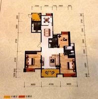 松江宁越花园B2B3户型4室2厅2卫0.00�O