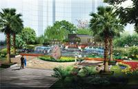 恒兆河西湾国际公馆效果图 恒兆河西湾园林效果图