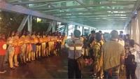 南宁恒大帝景活动图片|活动引来群众围观