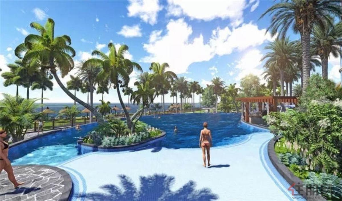 三块石海洋乐园效果图