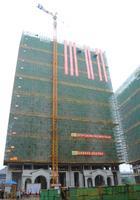 天健西班牙小镇实景图|已经封顶的9#楼