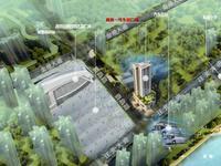 高铁1号生活广场效果图|区位图