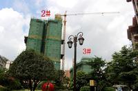 喜润金域悦府实景图|7月工程:2#、3#楼已封顶