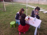 国悦・九曲湾活动图片|外教与孩子互动交流