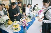 五象航洋城活动图片|来宾享用美食