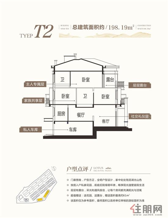 贵和・莲花山御府贵和・莲花山御府T2户型3室2厅3卫198.19�O