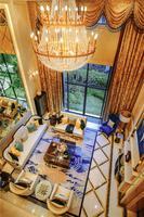 盛天悦景台样板间图|7.5米高客厅