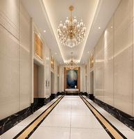 柳南万达广场效果图|公寓电梯前室
