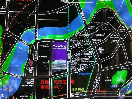 南宁启迪东盟科技城区位图