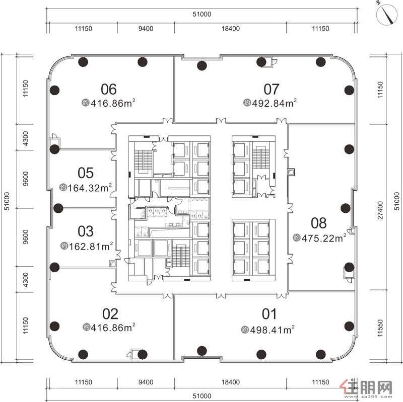 龙光世纪A塔25-42层
