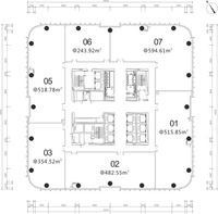 龙光世纪龙光世纪A塔44-52层0室0厅0卫0.00�O