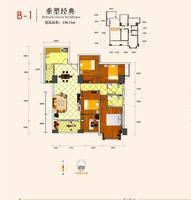 国门金茂B-1四房0室0厅0卫138.11�O