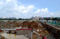 永利幸福广场实景图|二期工程:在做地下停车场