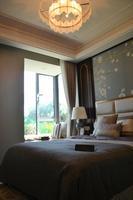 绿城·春江明月样板间图|E2户型卧室