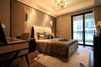 绿地中央广场样板间图|卧室