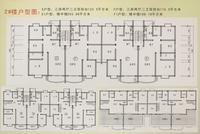 2号楼户型平层图