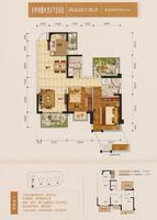 1#03号房户型图