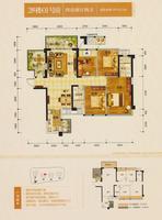 2#楼01号房户型图