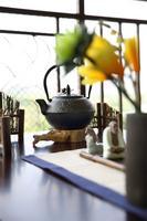龙光玖珑湖样板间图 现代中式样板间阳台