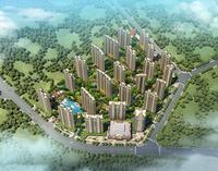 柳州恒大雅苑效果图|鸟瞰图