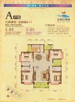 4+1两厅三卫三阳台
