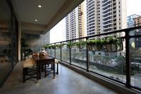 绿地中央广场样板间图|阳台