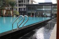 绿城・春江明月实景图|泳池实景