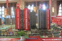 南宁安吉万达广场沙盘图