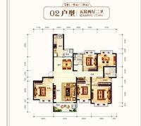 钦州恒大学府五房两厅两卫5室2厅2卫171.69�O