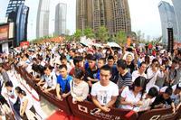 绿地中央广场活动图片|近千名球迷粉丝到场