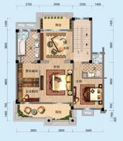 别墅二楼   两房两卫