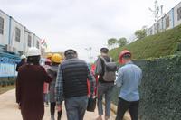 绿地西城国际花都活动图片|媒体嘉宾进入项目工地