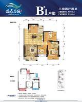 4#樓B1戶型